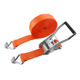 2''5T High Quality Galvanized Cargo Lashing Ratchet Tie Down Strap