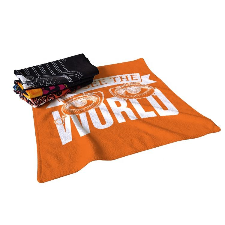 polyester travel/sports towel microfiber ,cotton printed beach towel