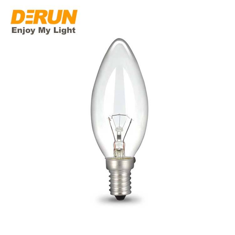 25W 40W 60W C35 E14 Clear Frosted Glas <span class=keywords><strong>Gloeilampen</strong></span>, INC-C35