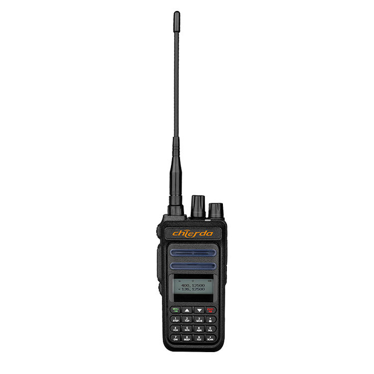 Chierda Handheld Handliche Talky Dingle Band <span class=keywords><strong>VHF</strong></span> UHF Handlichen Radio Mit 5W