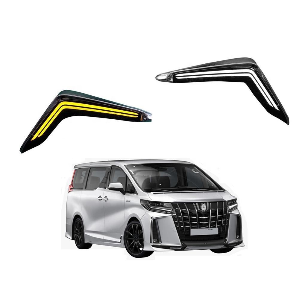 car styling accessory facelift led day time running light DRL for toyota for alphard vellfire 2018 2019 2020