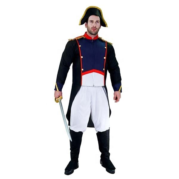 Carnival Masquerade Party Cosplay Napolen Costume Adult Napoleonic Infantry Uniforms