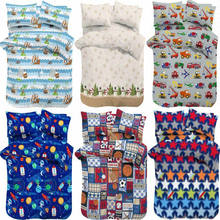 Custom printed cotton kids bedding set , child bedding set wholesale