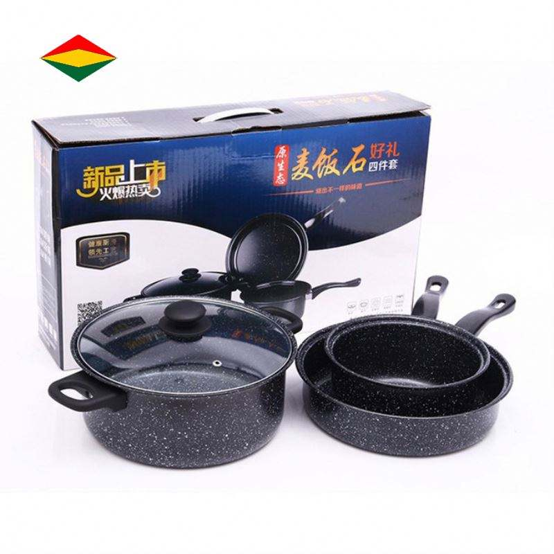 New Product Non Stick Frying Pan Steel Set Iron Cooking Pan Fry