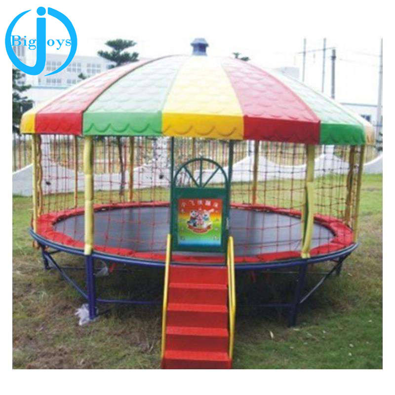 kids round trampoline with tent BJ-GXTP080525