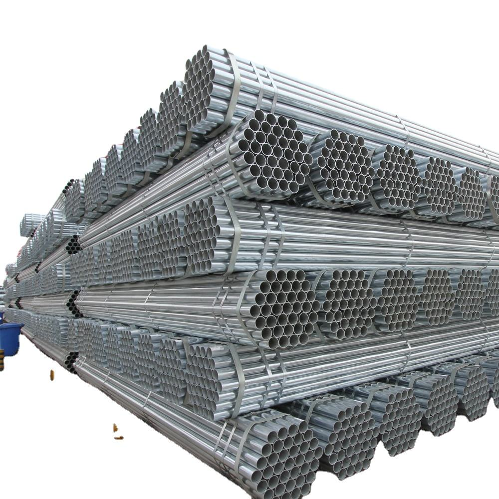 galvanised mild iron steel 5 inch tube pipe