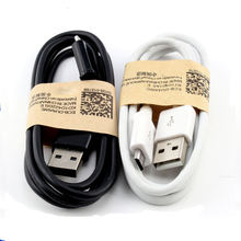 Factory Original High quality 2A Micro USB Cable for samsung data cable black/white