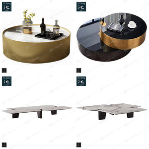 Modern Luxury Dressing White Desk Round Marble Dinner Granite Slat Table Dining Tables Coffee Table Simple Marble Coffee Tables