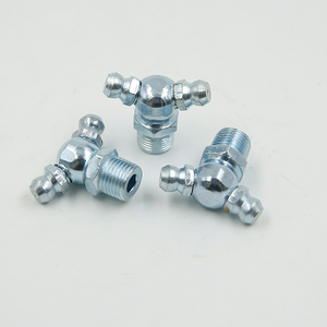 Butter gun fittings M6 M8 M10 Male thread Grease zerk nipple Oil mouth 45 90 Degree universal joint grease gun Nozzles