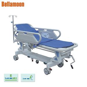 JZ2002A Patient Stretcher Bed Hospital Emergency Stretcher trolley for Patient Transport