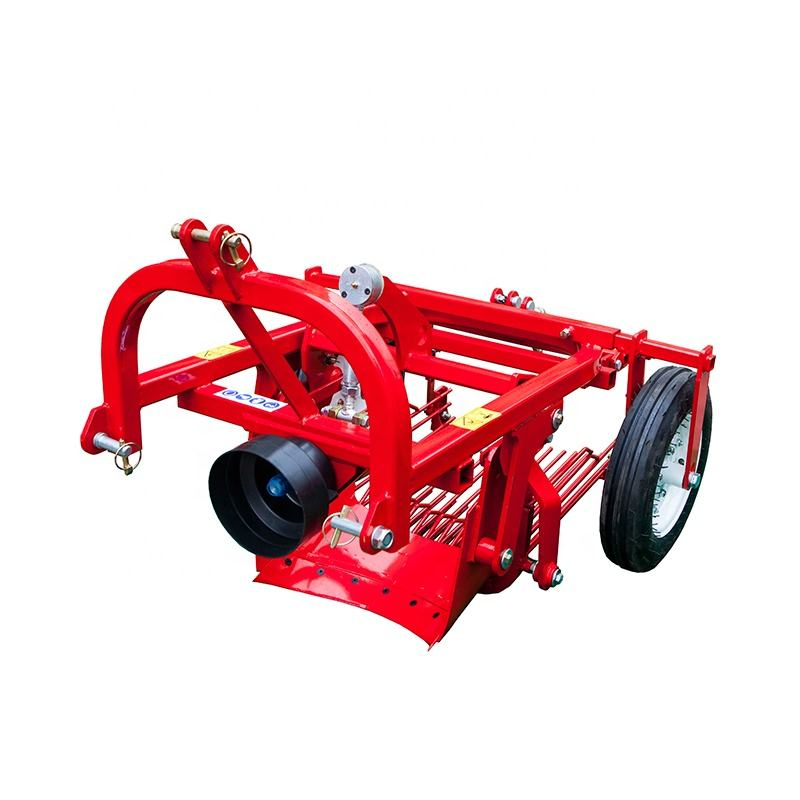 tractor mounted 3 point machines PTO driven one row sweet potato harvester