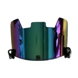Anti-fog American football helmet visor plating color universal fit rugby helmet eye shield visor