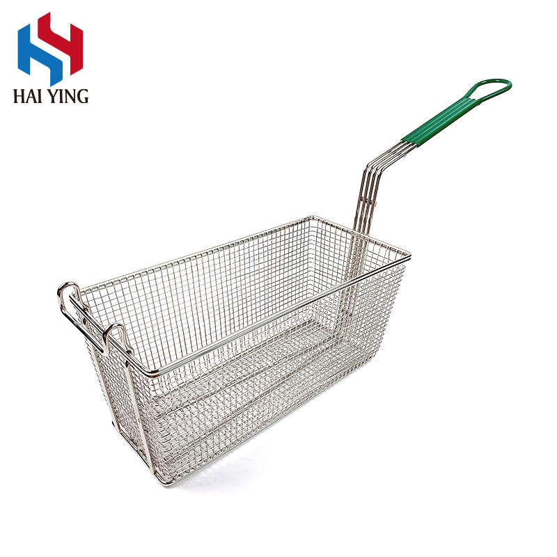 Kitchen Non-stick Fryer French Fries Fry Basket Commercial Wire Fry Basket