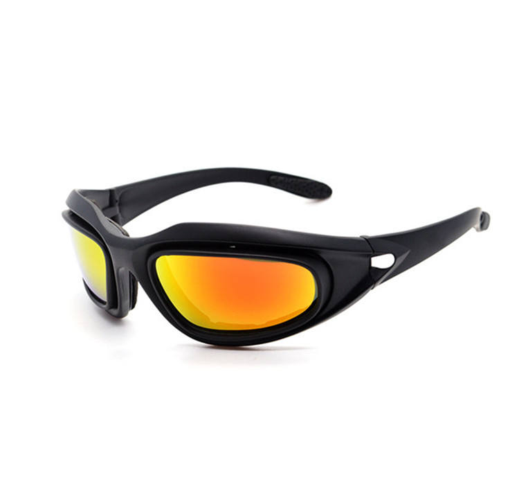 Outdoor Tactical Anti Impact Pc Frame Night Vision glasses eye wear Military Windproof Driving Motorcycle Safety eye wear