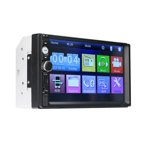Android suporte multi-toque manual 9 car video audio player mp5 player