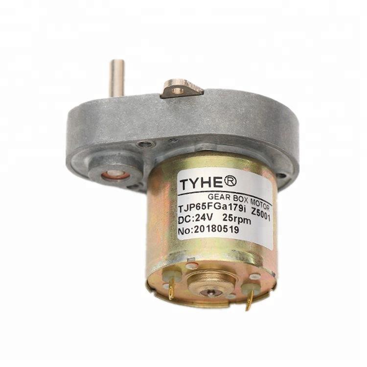 Chất lượng cao Mạnh Mẽ 65*48mm kích thước 6 volt 12 rpm dc bánh có động cơ giảm cho thương mại đơn vị