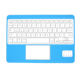 mini 7 inch ergonomic touchpad wireless bluetooth keyboard for samsung tablet