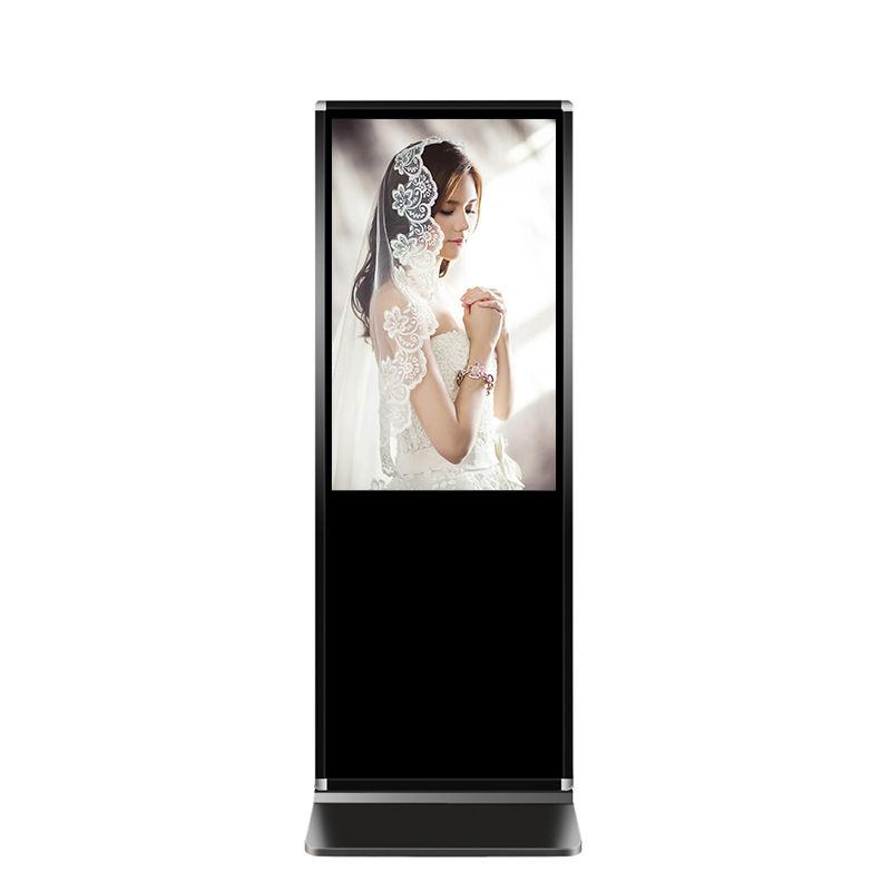 Digital signage coperta supporto da pavimento <span class=keywords><strong>lcd</strong></span> media player android display monitor portatile chiosco totem verticale dello schermo di pubblicità