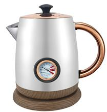 0.8L  household appliances  Retro Wood Grain small electric water Kettle hot plate coffee drip