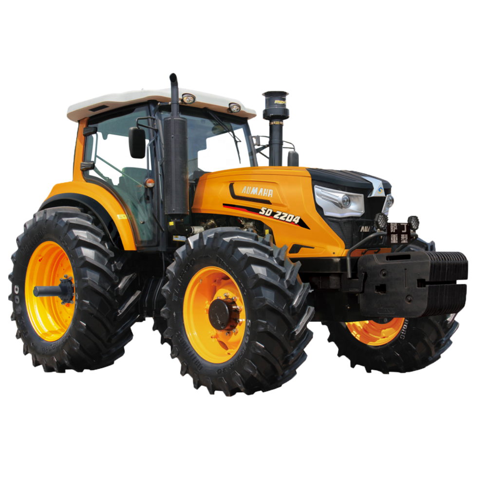 big power agricultural machinery 4WD 220HP farm tractor made in China
