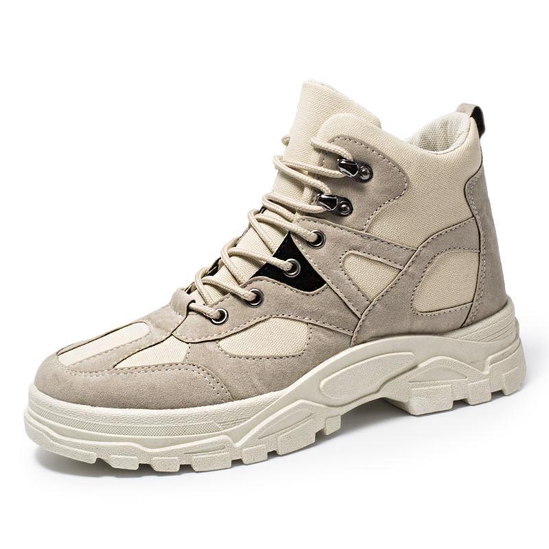 Modèles d'automne et d'hiver 2019 Martin bottes bottes de marée haute pour hommes, outillage rétro, bottes pour hommes du désert