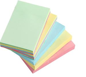 7.5*7.5CM 3*3 inches rewritable recycled paper round sticker sticky note memo paster post it notes