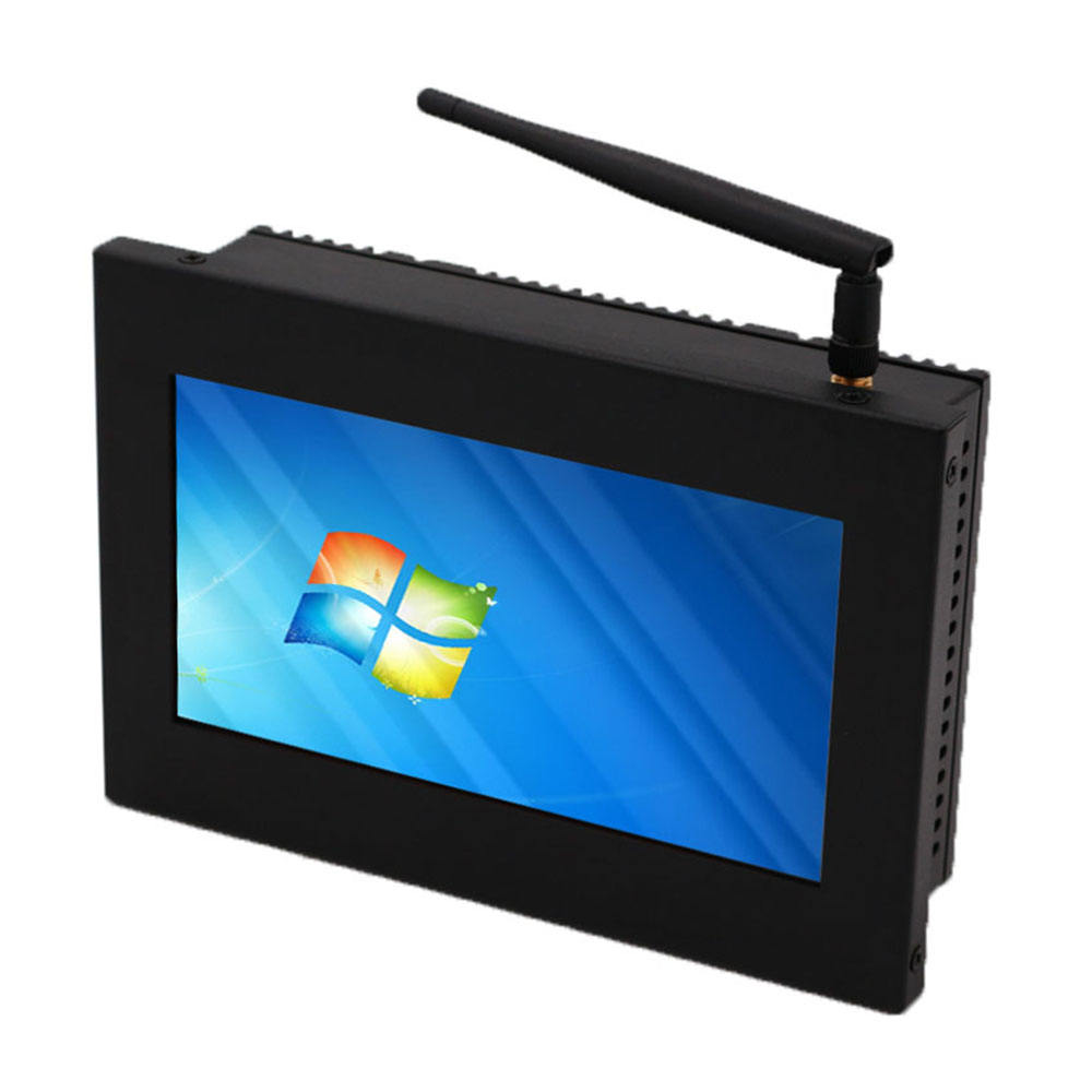 rugged 7 inch embedded Industrial all in one Computer flat panel pc with touch screen panel mini pc intel j1900