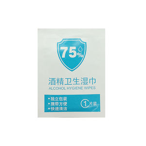 Hot Selling 75% alcohol screen Wipes Non-woven Cleaning Wipes
