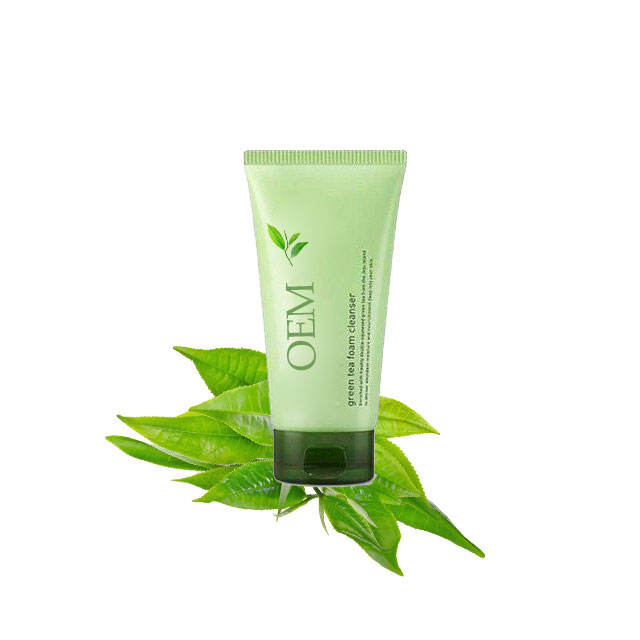 Oil Control Pore Acne Facial Cleanser Green Tea Amino Acid Cleanser