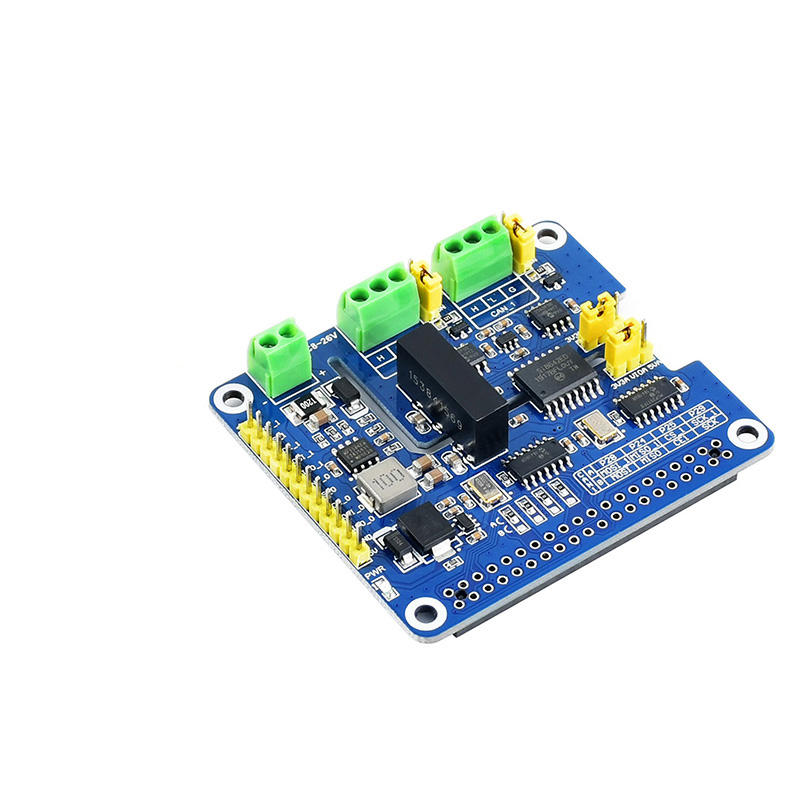 2-Channel Isolated CAN FD Expansion HAT für Raspberry Pi, mit Multi Onboard Protection Circuits
