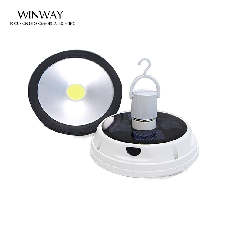 IP65 10W E27 Solar LED Light Bulb USB rechargeable solar emergency outdoors with solar panel LED bulbs solar bulb