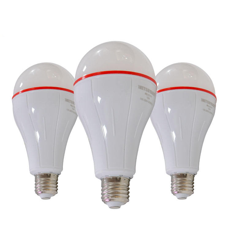 1600LM Rechargeable outdoor and indoor emergency energy efficient bulb pc material drive 20w led bulb