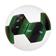 promotional & gift PVC leather soccer ball with fixed leather and price for mass promotion