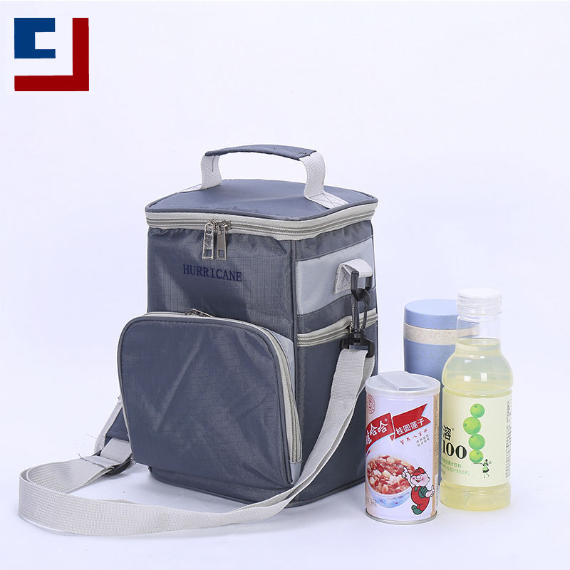 Lunch Insulated Tote Lunch Bag High Quality Mini Blue Food Insulated Tote Lunch Cooler Bag