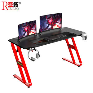 2020 Amazon new design large size gaming desk and computer table for E-sport
