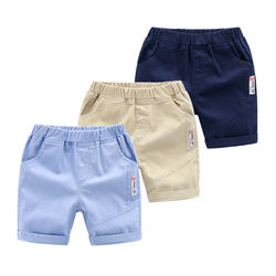 Sunny Baby Boys Pants Summer New Children Clothing Casual Breathable Boys Shorts