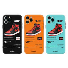 sports phone Shockproof Protective cover for iphone 11 pro max Fashion Brand Nike Phone case nike