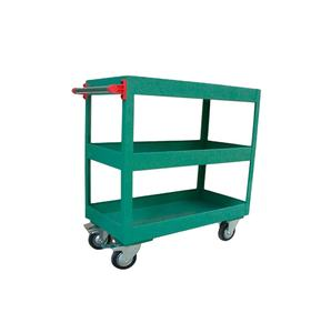 China Fabrikant Workshop 3 Layer Tool Opslag Heavy Duty Tafel Trolley/Dolly/Hand Winkelwagen
