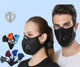Respirator Mask With Filter Amazon Top Mouth Washable Face Maskes Fashion 5ly Respirator Filter Face Maskes With Valve For Riding Cycling Sport Maskes