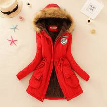 Hot Sale Thick Warm Hooded Women Winter Jacket