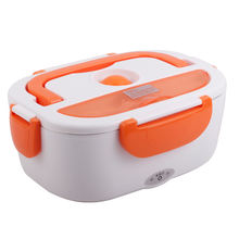 110V / 220V 1.05L plastic portable food insulation lunch box electric heating lunch box freshness box