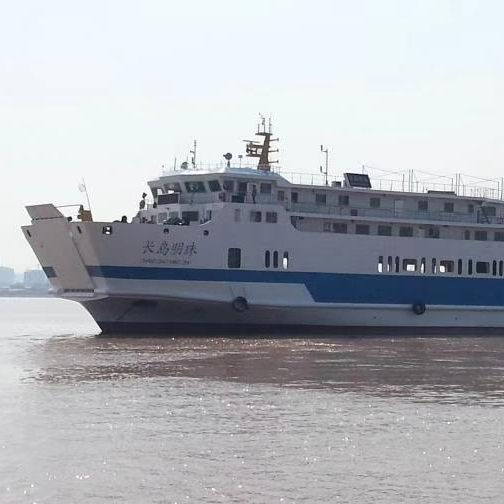 27 trucks 499ropax RORO passenger ship ferry for sale