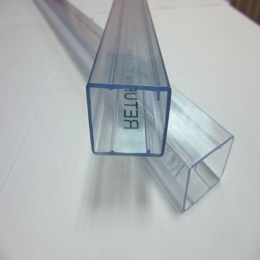 IC pipe package clear PVC tube anti-static PVC packing tube clear hard PVC tubing