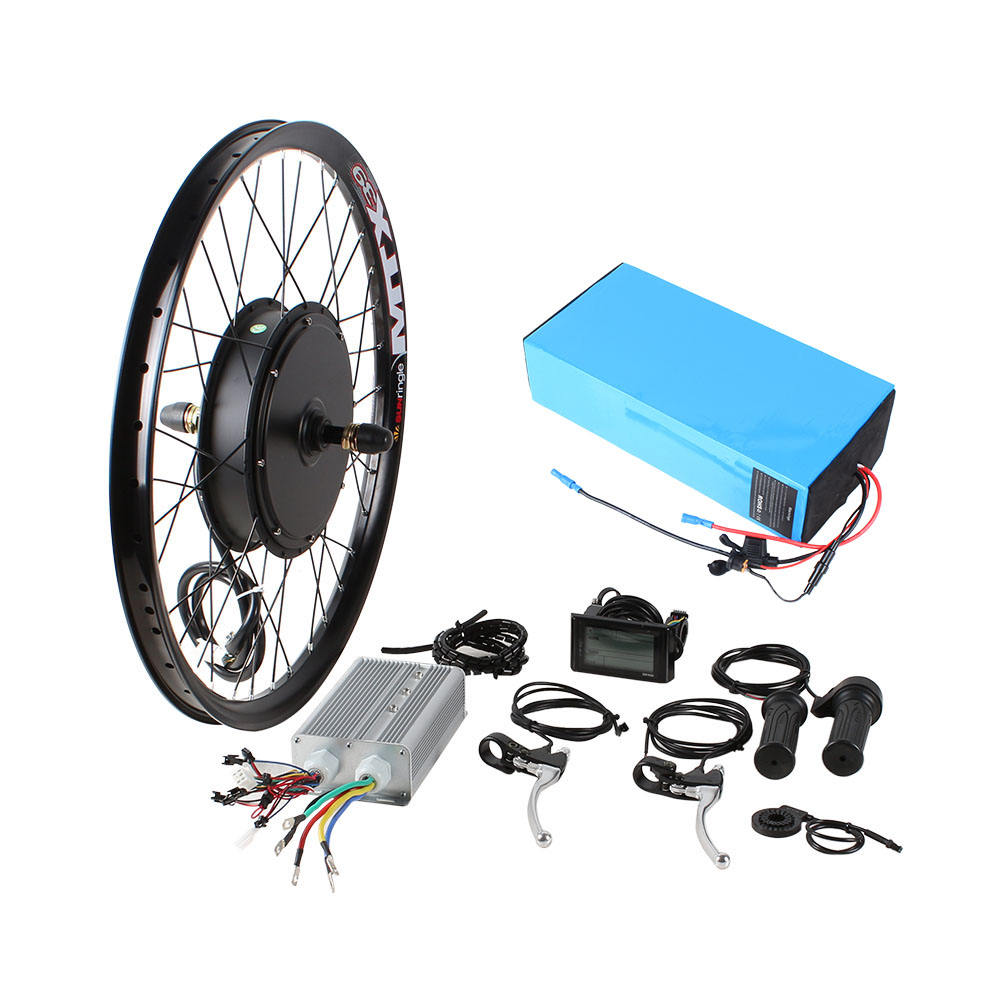 3000w Power Stealth Bomber Electric Bike DIY completed EBike Conversion Kits with battery