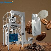 99% High accuracy 500g 1kg 2kg automatic weighing roasted coffee beans packing machine