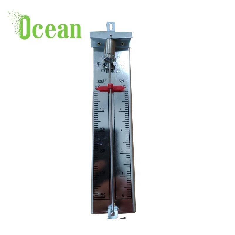 5N Spring Dynamometer Spring Balance Physics Mechanical Equipment Supply with A Flat Anodized Metal Scale