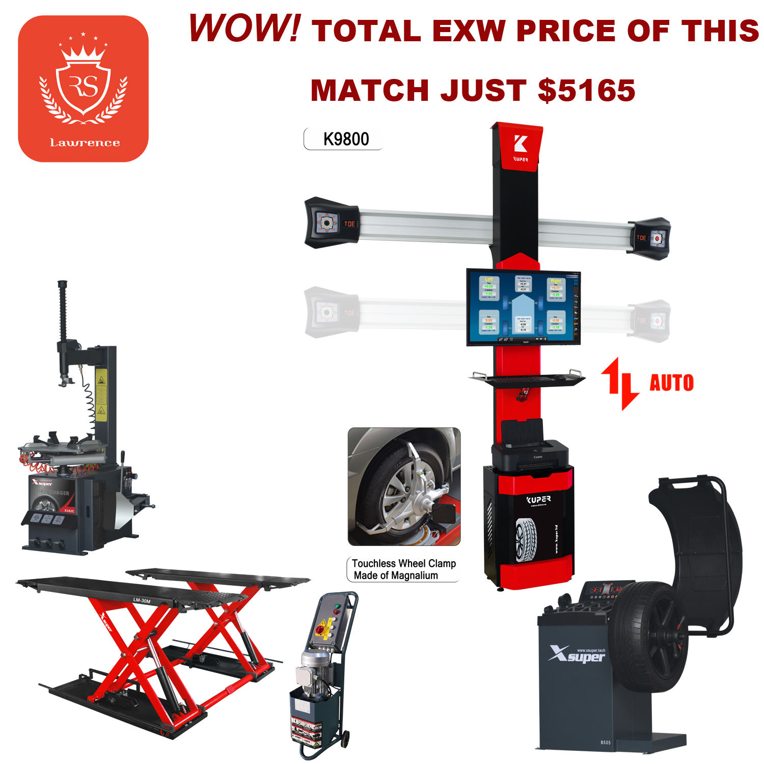 Hot Sale Workshop Machine Match with Car Lift