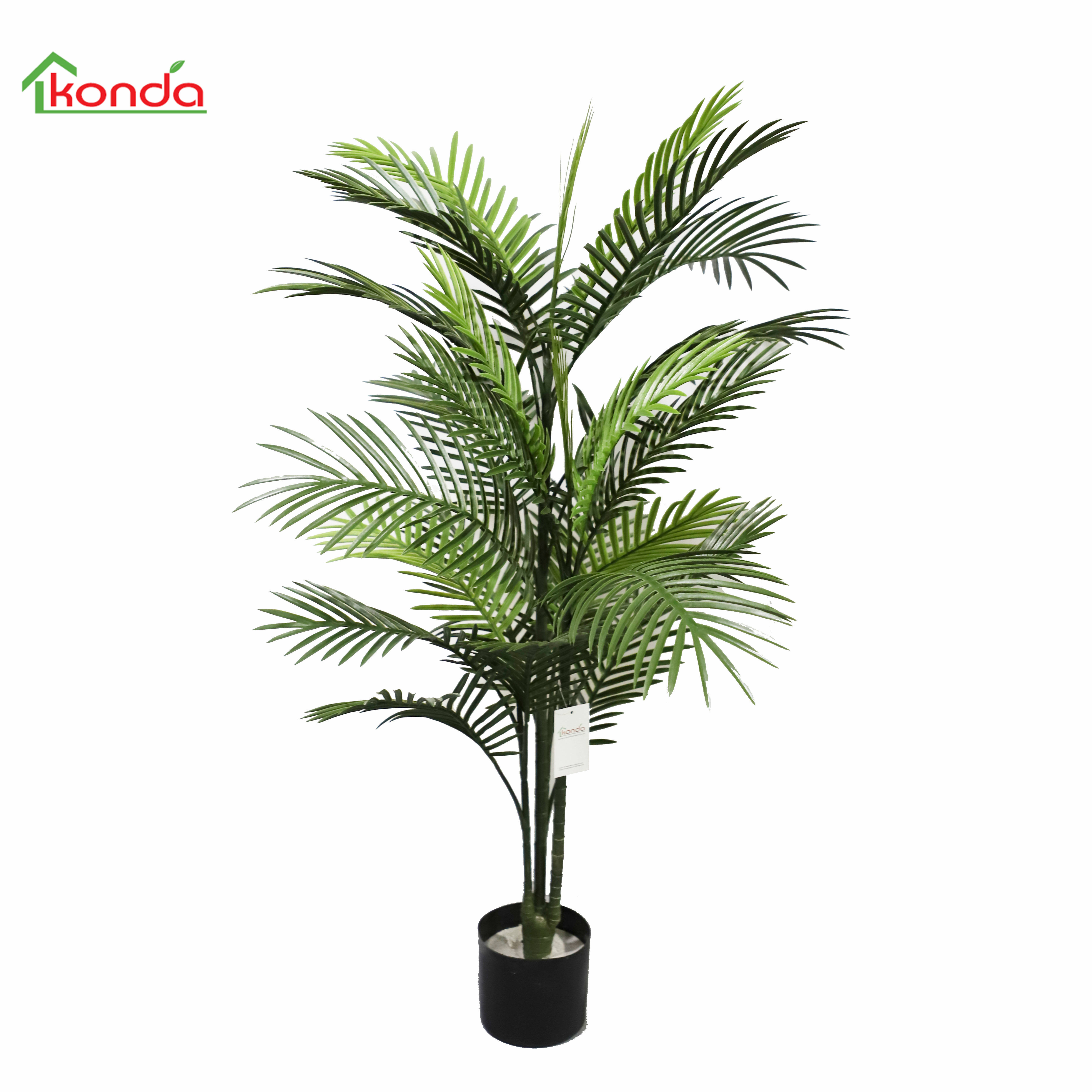 outdoor use realistic 48''' Phoenix Palm Tree Artificial Plant with UV resistant
