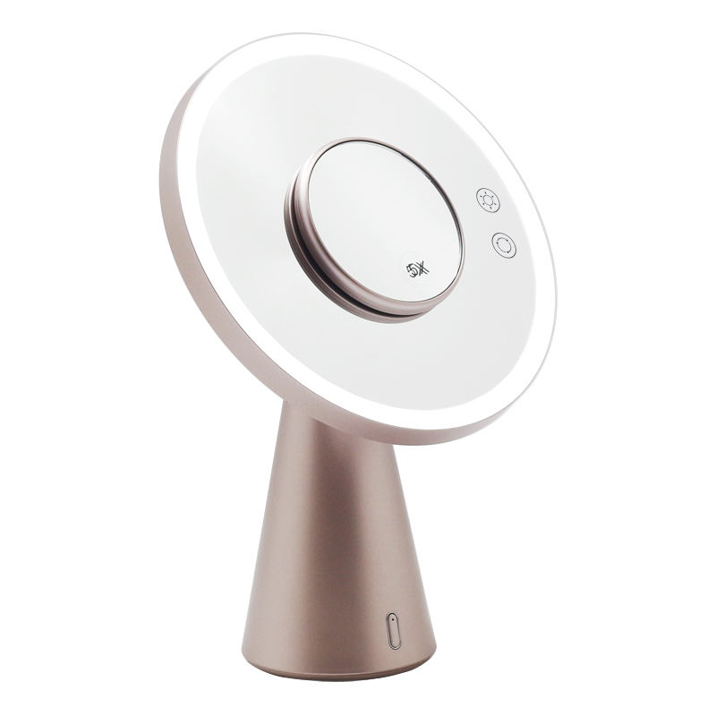 LED Smart Moon Mirror LED Lamp and Speaker 3 in 1 Mirror