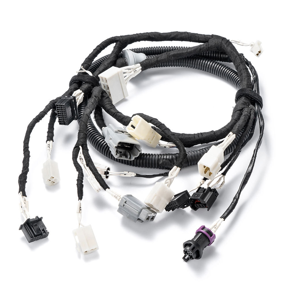 Manufacturing automotive wire harness kits custom hydraulic systems and automotive sensor wiring harnesses